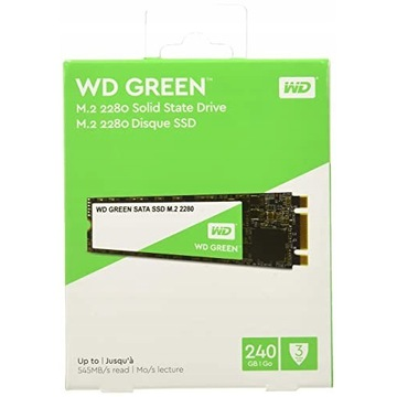 Dysk SSD WD Green 240GB M.2 2280.