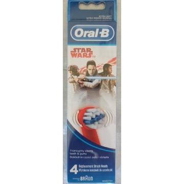 Oral B Star Wars końcówki do szczoteczki 4szt