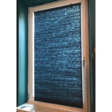 Przyciemniająca roleta hoppvals ikea niebieska