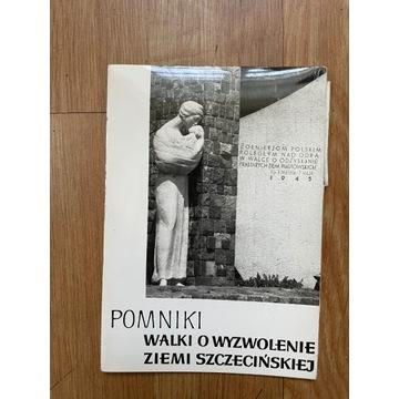 Pocztówki - Pomniki Walki o Ziemie Szczecińską