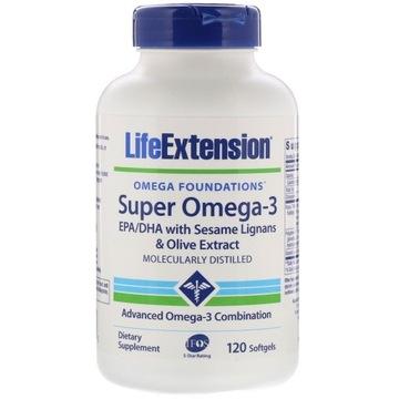 Life Extension Super Omega-3 (120 softgels)