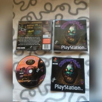 """Abe Oddysee - Oddworld"" (Play Station 1 - PSX)"