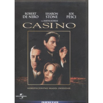 3 x VCD Casino – De Niro, Stone, Pesci