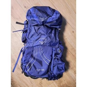 Superlekki plecak wyprawowy damski OSPREY Eja 58