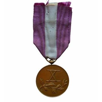 IIRP: Medal za długoletnią służbę. X lat PIĘKNY