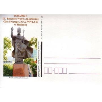 Cp**- 10 R.WIZYTY PAPIEŻA J.PAWŁA II W SIEDLCACH