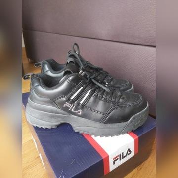 Buty FILA czarne (Rozmiar 40)