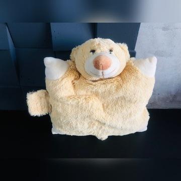 Poduszka miś dla dziecka maskotka