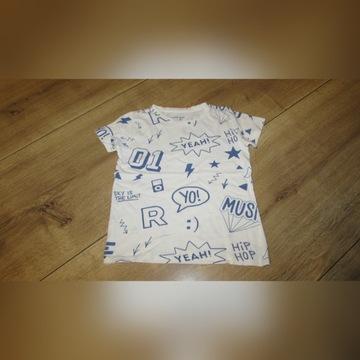 Bluzka koszulka 110 h&m reserved chłopiec 3 szt