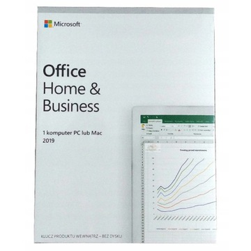 NOWY Office 2019 Home & Business PL BOX