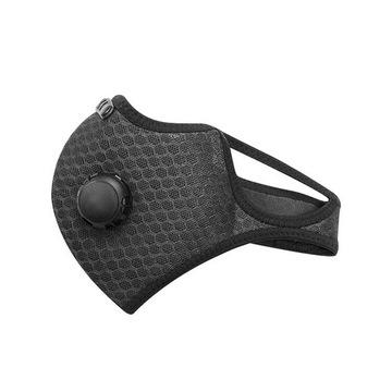 Maska Antysmogowa 2xFiltr N99 Węgiel |JAKOŚĆ| PL