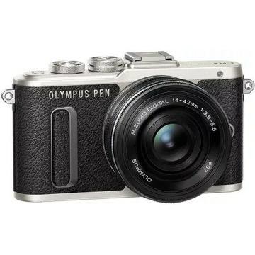 Olympus PEN E-PL8 czarny + 14-42mm EZ