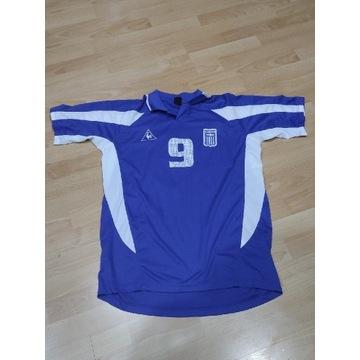 Grecja CHARISTEAS #9 Le Coq 2000/01 tshirt unikat