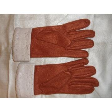 rękawiczki czerwone nr L