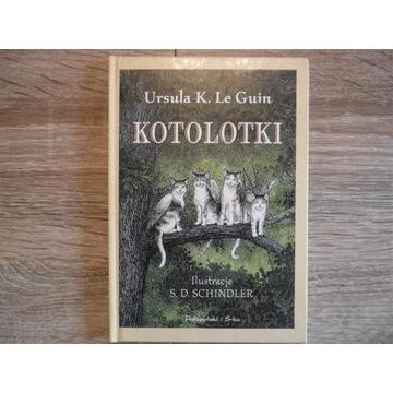 Kotolotki Ursula K. Le Guin 2001 rok