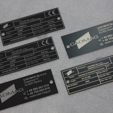 Tabliczki Znamionowe Grawerowanie Laserem