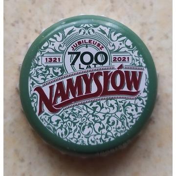 700-Lecie Browaru Namysłów kapsel po piwie