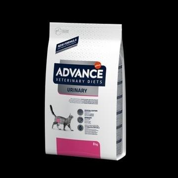 ADVANCE DIET Urinary - sucha karma dla kotów 8kg