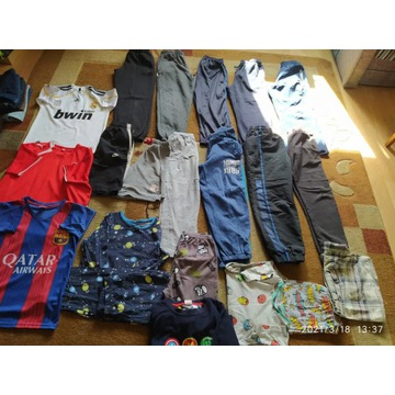 Spodnie, spodenki, koszulki, pizamki. 134.tanio