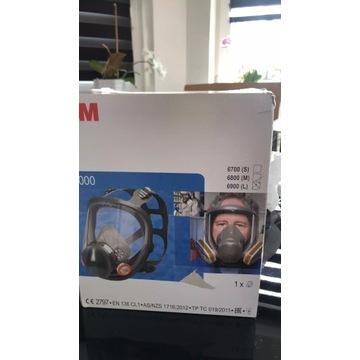 3M 6900 Maska pełna 3M serii 6000 L.