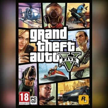 Grand Theft Auto 5 PC (Klucz Social Club)