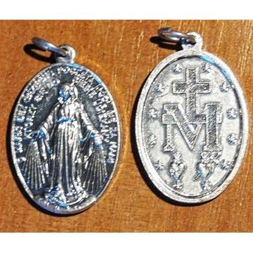 Medalik Maryjny z modlitwa