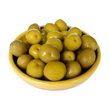 Greckie oliwki zielone z pestką 1.kg