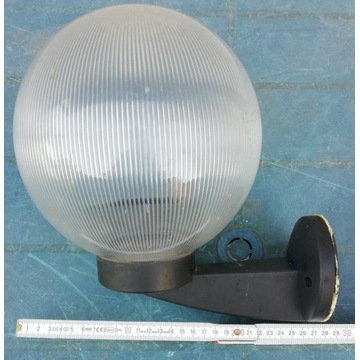 Lampy zewnętrzne - po demontażu