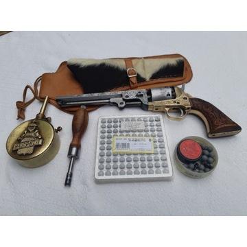 Colt Navy czarnoprochowy, replika