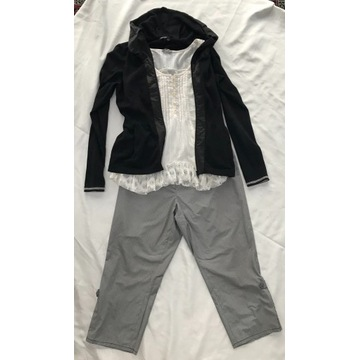 Zestaw  bluzki, spodnie, sweter -Promod, Via/APPIA