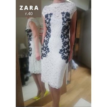 Unikat_sukienka Zara z Barcelony r.40