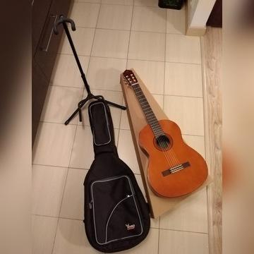 Gitara klasyczna Yamaha C40 C-40 okazja  pokrowiec