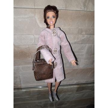 Płaszczyk  i torebka dla  lalki Barbie