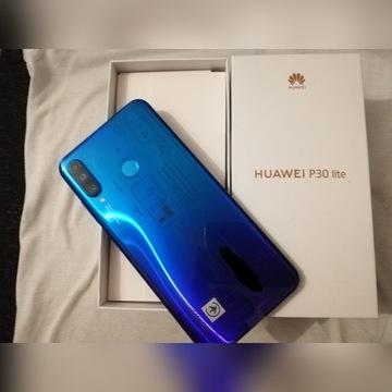 Huawei p30 lite w kolorze niebieskim