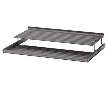 Wysuwana półka na buty IKEA KOMPLEMENT szara 100cm