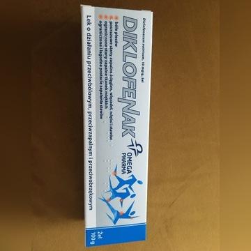 Diklofenak Omega Pharma, 10 mg/g, żel, 100 g