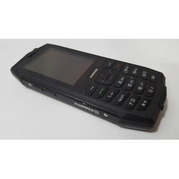 MYPHONE HAMMER 4 Czarny, dual sim, IP68 2000mAh