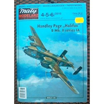 "MM 4-5-6/2010 ""Halifax""kartonowy model"