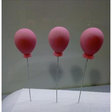 Toppery baloniki z masy cukrowej