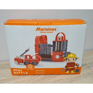Marioinex Strażak Fireman klocki konstrukcyjne