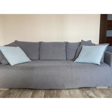 Szara kanapa