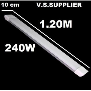 Lampa LED 120 cm Panel świetlówka 240W