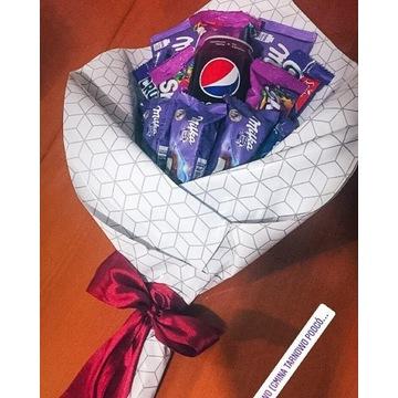 Słodki bukiet  Milka, Pepci prezent