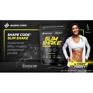 SHAPE CODE Slim Shake 750g ZDROWE ODCHUDZANIE