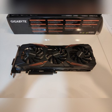 Gigabyte GeForce GTX 1080 G1 Gaming RGB, GW, FV