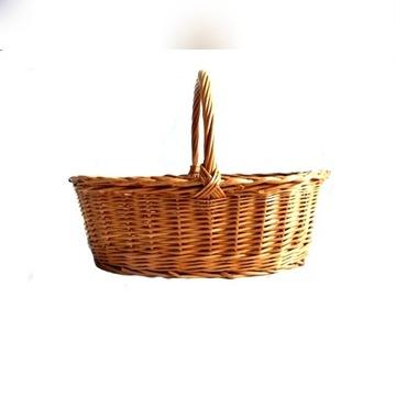 kosz koszyk wiklina duży