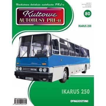 Ikarus 250 Kultowe autobusy PRL Nr 80
