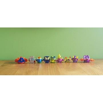 Super Zings seria 4, zestaw 7 figurek, 2 pojazdy