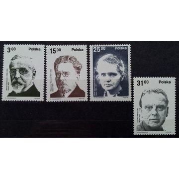 Fi 2660-2663** Polscy laureaci Nagrody Nobla 1982