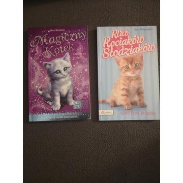 Książki z serii przygód o kotkach